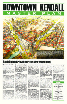 Downtown Kendall Master Plan : Sustainable Growth for the New Millenium